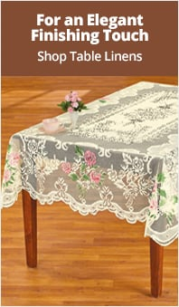 Shop Table Linens
