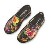 Black Pansy Sloggers Waterproof Garden Shoes