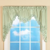 Elegant Scroll Window Valance