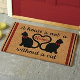 Cat Home Novelty Coco Doormat