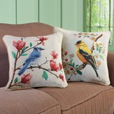 Lovely Bird Accent Pillow Covers - Set of 2