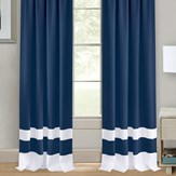 Darcy Two-Tone Curtain Panel