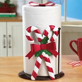 Candy Cane Christmas Paper Towel Holder