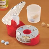 Pill Cutter for Multiple Shapes w/ Catch Cup
