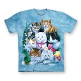 Springtime Kittens Short Sleeve Cotton T-Shirt