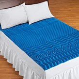 Deluxe Cooling Mattress Pad Topper with 7 Zones