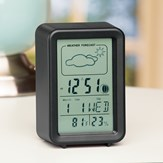 LCD Weather Station Alarm Clock