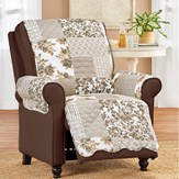 Langdon Quilted Patchwork Furniture Protector
