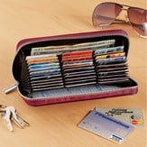 RFID-Blocking Technology Leather Wallet