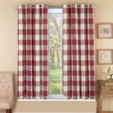 Stylish Checkered Curtain Panel