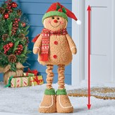 Expandable Gingerbread Holiday Decoration