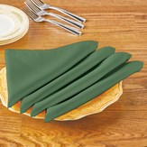 Machine Washable Solid Colored Cloth Napkins - Set of 4