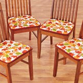 Falling Autumn Leaves Chair Pad Set - Set of 4