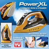 PowerXL™ Professional Grade Cordless Iron and Steamer