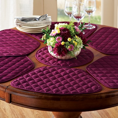 Kitchen Table Placemat and Centerpiece Set - 7 pc