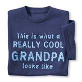 Really Cool Grandparent Novelty T-Shirt