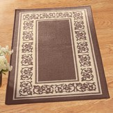 Floral Border Accent Rug