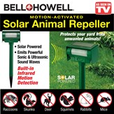 Bell & Howell Solar Animal Repeller Stake