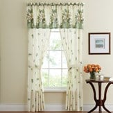 Floral Magnolia Garden Curtain Collection